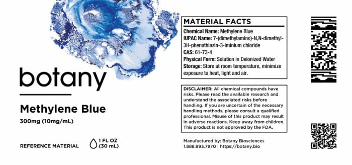Methylene Blue – Solution, 300mg