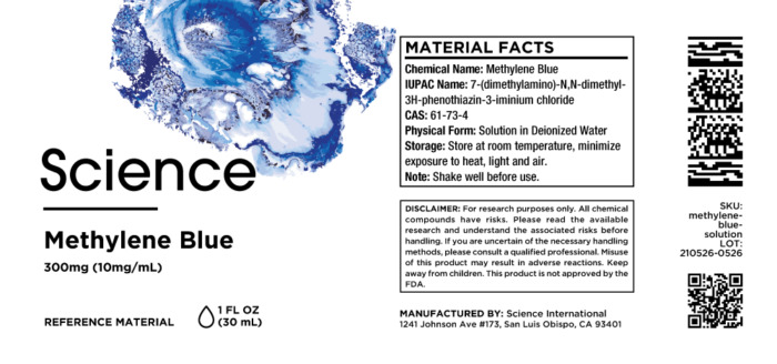 Methylene Blue – Solution, 300mg