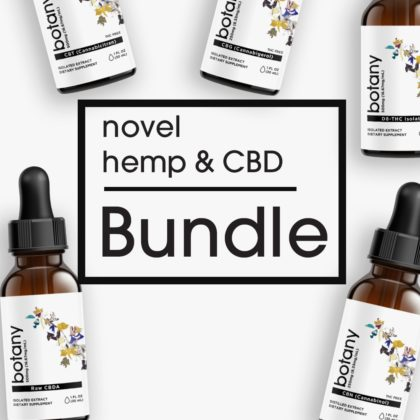 Novel Hemp & CBD Bundle – Liquid Set