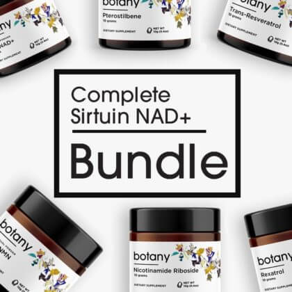 Complete Sirtuin NAD+ Bundle – Powder Set