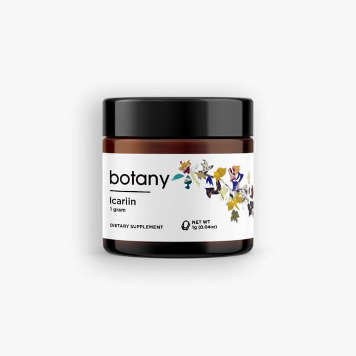 Icariin (Horny Goat Weed Extract) – Powder, 1g