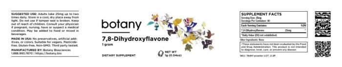 7,8-Dihydroxyflavone – Powder, 1g