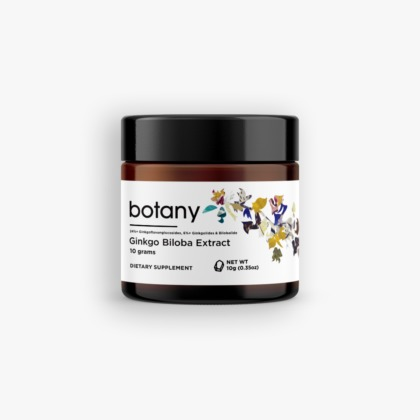 Ginkgo Biloba Extract | 24%+ GFGs, 6%+ Lactones – Powder, 10g