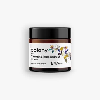 Ginkgo Biloba Extract   24%+ Ginkgoflavonglucosides, 6%+ Ginkgolides & Bilobalide – Powder, 10g