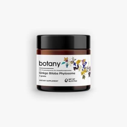Ginkgo Biloba Phytosome   5%+ Ginkgoflavonglucosides, 12%+ Phosphatidylserine – Powder, 5g
