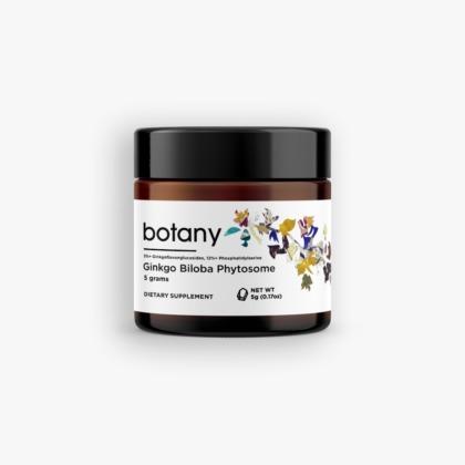 Ginkgo Biloba Phytosome | 5%+ GFGs, 12%+ PS - Powder, 5g
