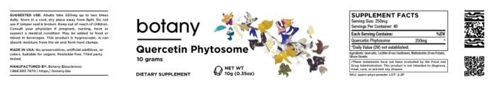 Quercetin Phytosome – Powder, 10g