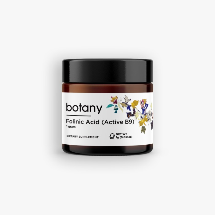 Folinic Acid   Active B9 – Powder, 1g