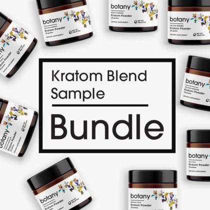 Kratom Blend Sample Bundle – Powder Set