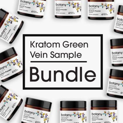 Kratom Green Vein Sample Bundle – Powder Set