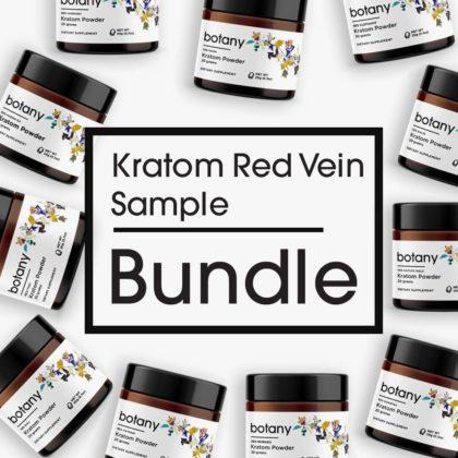 Kratom Red Vein Sample Bundle – Powder Set