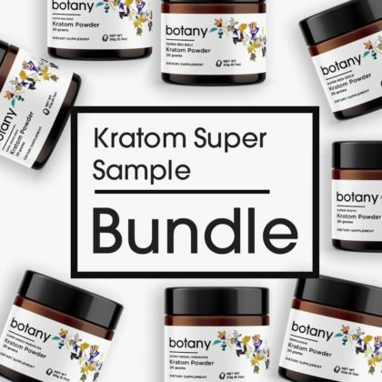 Kratom Super Sample Bundle – Powder Set