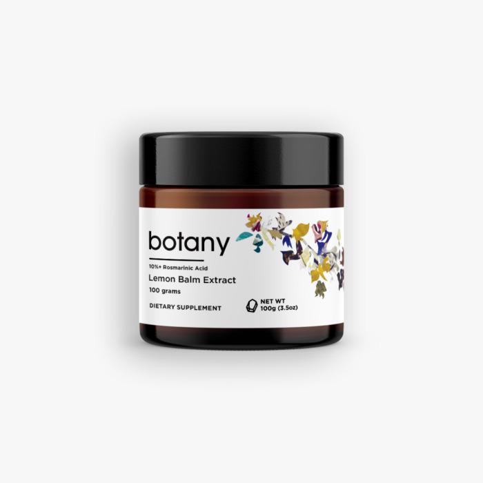 Lemon Balm (Melissa Officinalis) | 10%+ Rosmarinic Acid – Powder, 100g