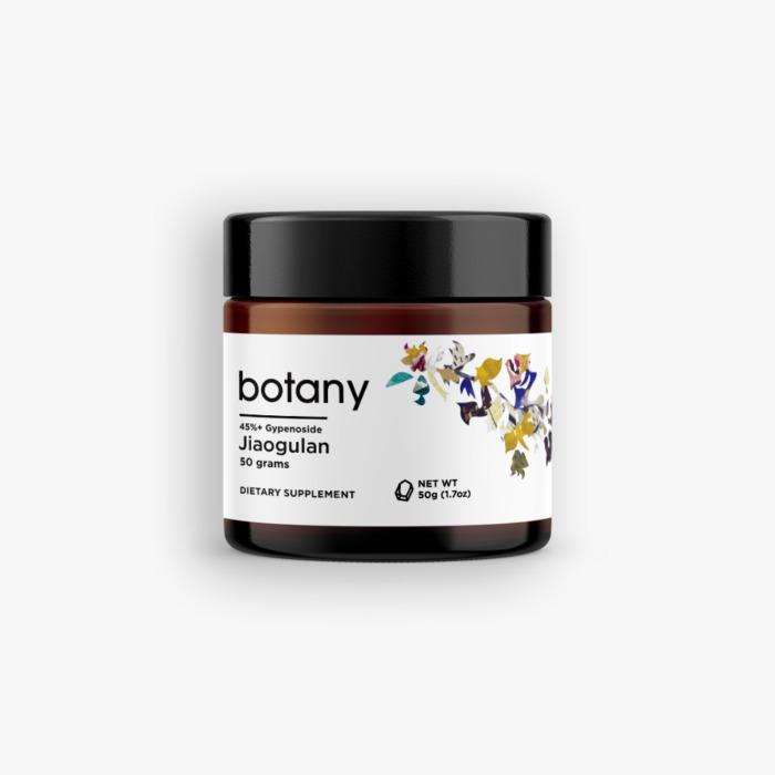 Jiaogulan (Gynostemma Pentaphyllum) | 45%+ Gypenoside – Powder, 50g
