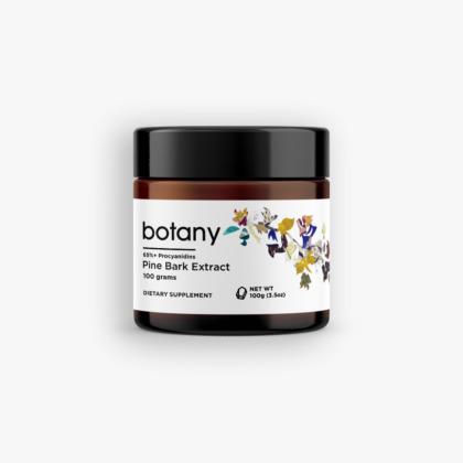Pine Bark (Pinus Pinaster) | 65%+ Procyanidins – Powder, 100g